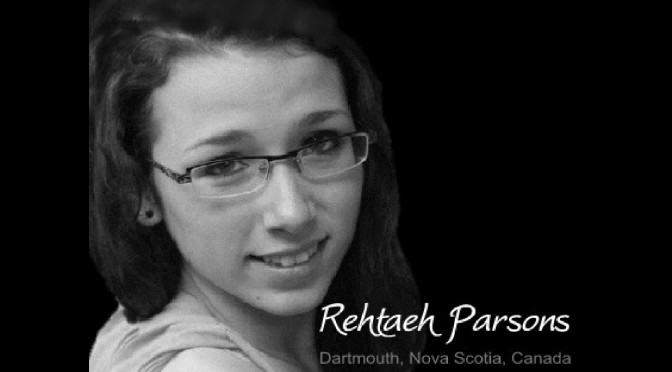 Rest in Peace Rehtaeh - Claude Hamilton